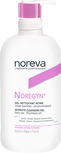 gel nettoyant intime 500ml noregyn soin intime pour femme noreva. Black Bedroom Furniture Sets. Home Design Ideas